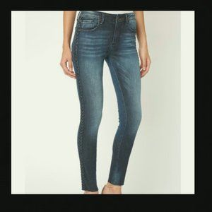 NWT Driftwood Jackie Jeans with Braiding - Size 30